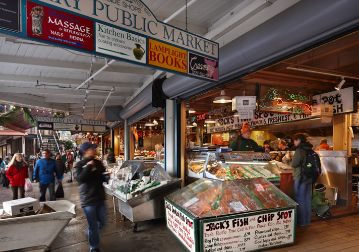 Is Pike Place Market Dog Friendly