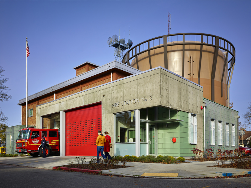 Seattle Fire Stations (No  18, 8, and 31) | SHKS Architects